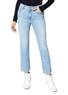 Sanctuary Modern Straight Ankle Jeans in Light Blue