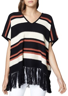 Sanctuary Mojave Striped Poncho Top