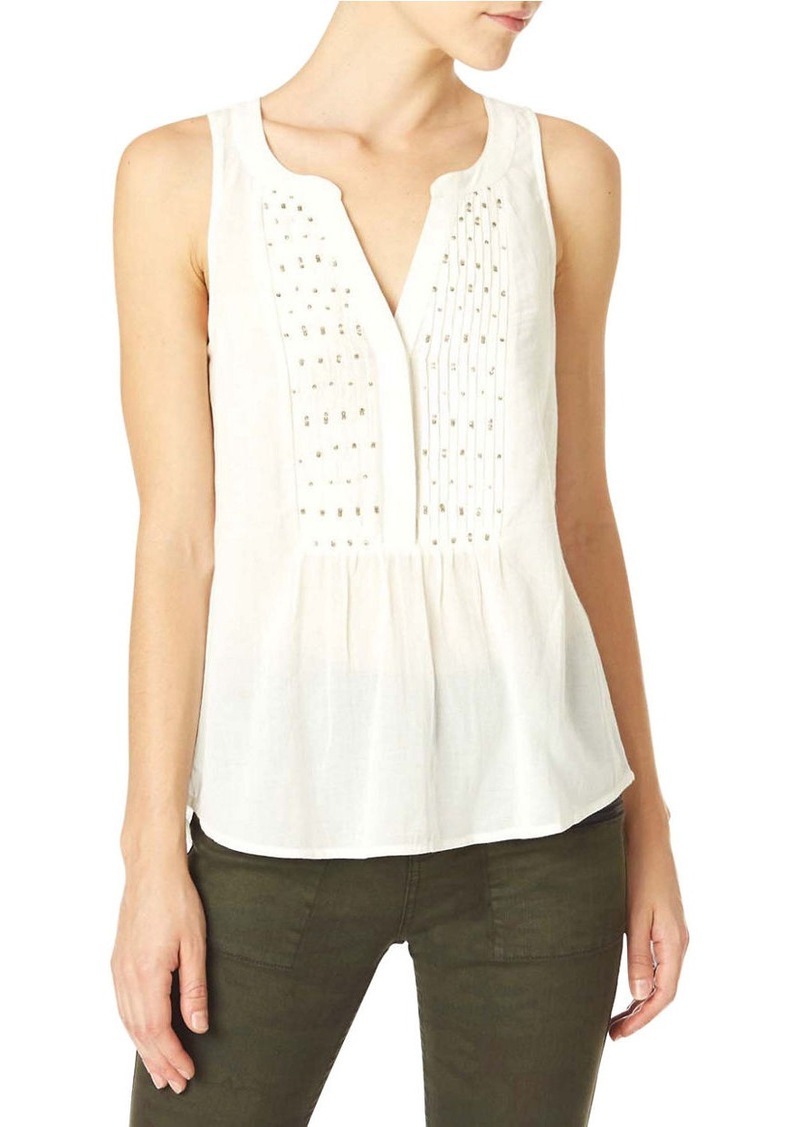 SANCTUARY Muriel Craft Sleeveless Blouse