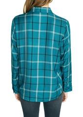 Sanctuary New Generation Plaid Boyfriend Shirt (Regular & Petite)