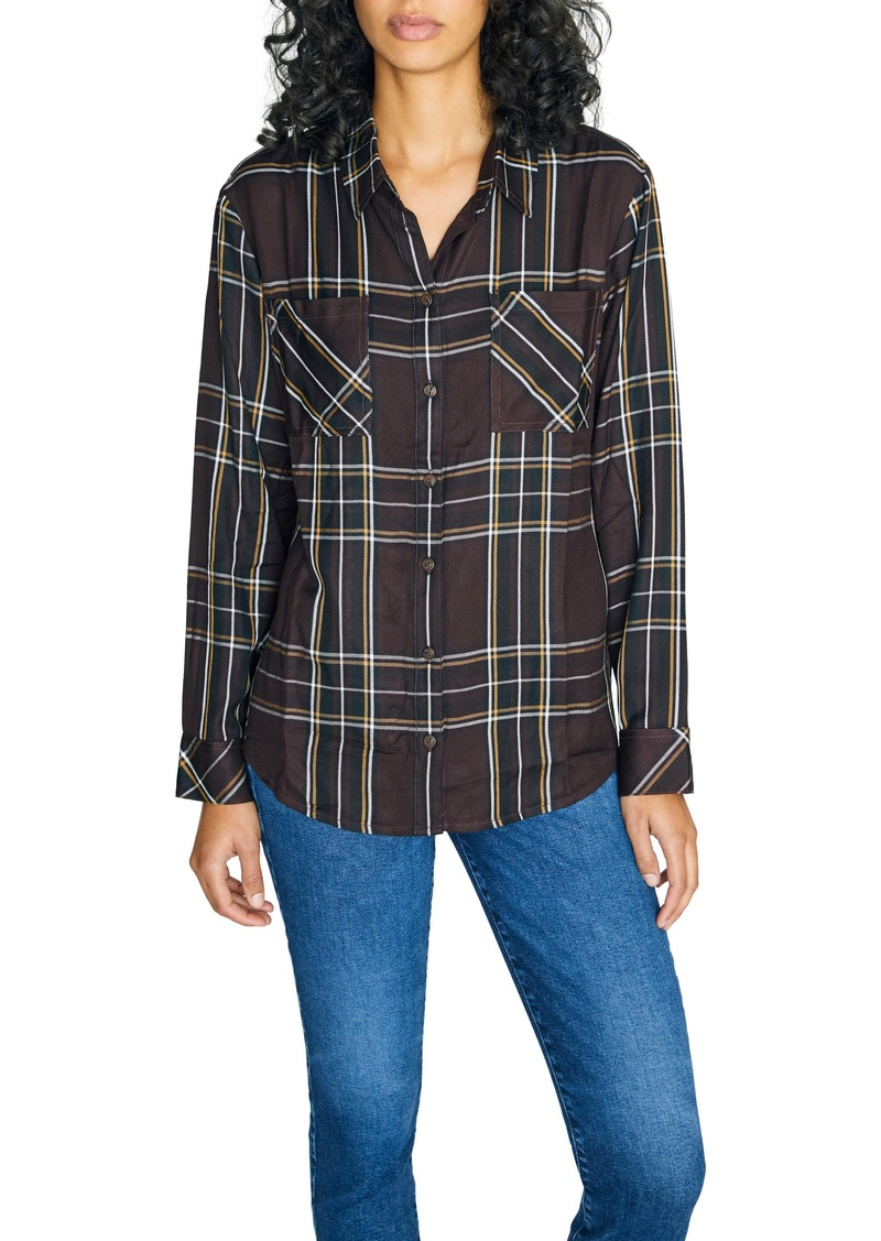 Sanctuary New Generation Plaid Boyfriend Shirt (Regular & Petite)