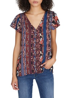 Sanctuary New Moon Peplum Blouse