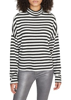 Sanctuary Nikolai Stripe Mock Neck Top (Regular & Petite)