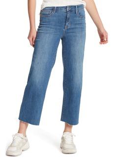 Sanctuary Non Comformist High Waist Crop Wide Leg Jeans (Songbird)