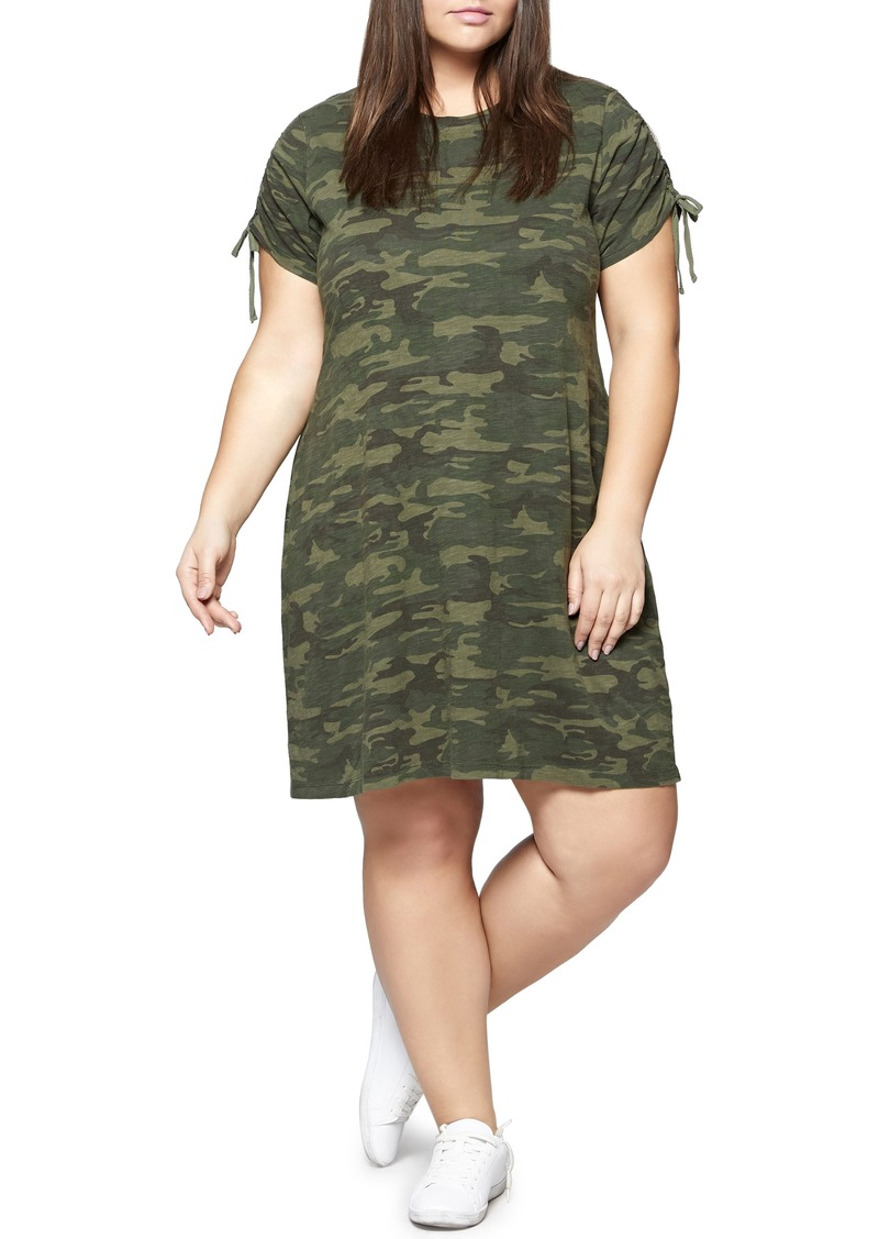 Sanctuary Sanctuary Ojai Camo T-Shirt Dress (Plus Size) | Dresses