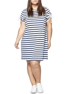 Sanctuary Ojai Stripe T-Shirt Dress (Plus Size)