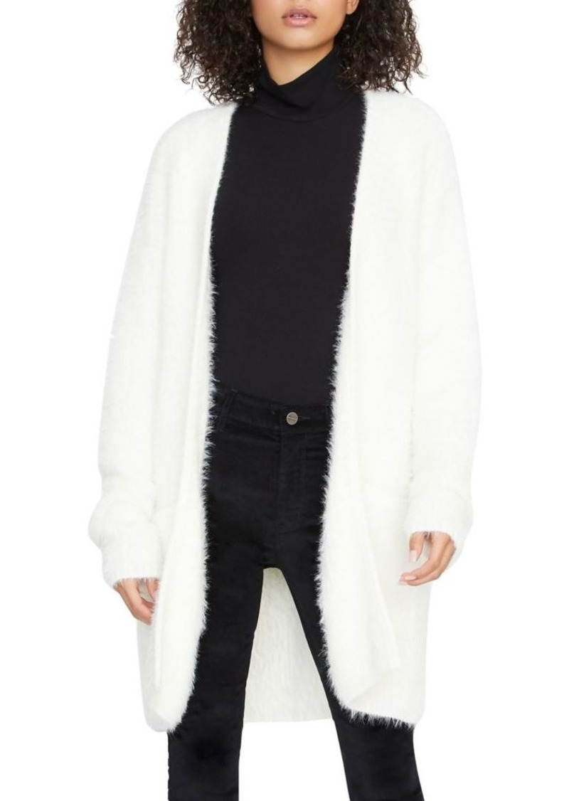 Sanctuary Open-Front Faux Fur Cardigan