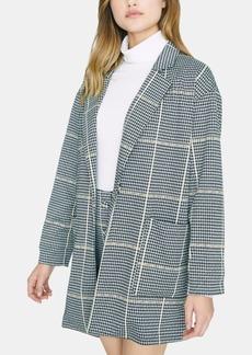 Sanctuary City Coat Plaid Blazer