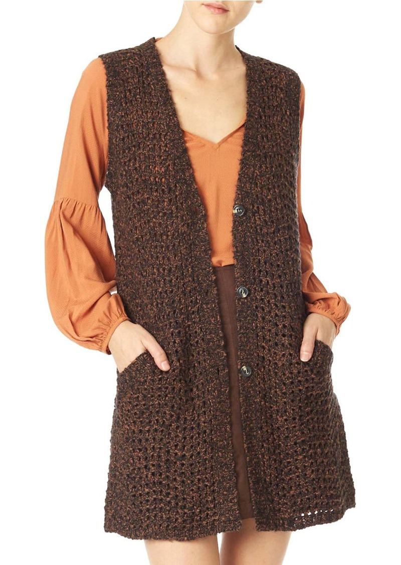 SANCTUARY Palais Sweater Vest