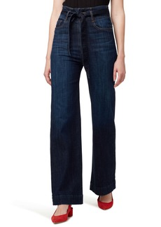 Sanctuary Paperbag Waist Belted Jeans (Riverstone)