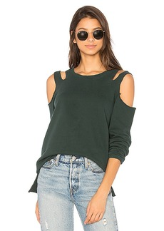 Sanctuary Park Slope Sweatshirt in Green. - size L (also in M,XS)