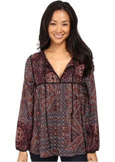 Sanctuary Patchwork Belle Blouse