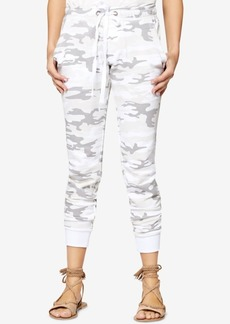 Sanctuary Peace Brigade Cotton Jogger Pants