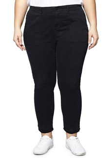 Sanctuary Peace Release Hem Cargo Pants (Plus Size)