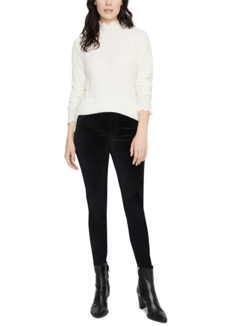 Sanctuary Pearla Waffle Mock-Neck Top