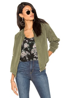 Sanctuary Pilot Bomber in Green. - size L (also in XS,S,M)