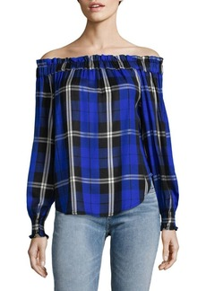 Sanctuary Plaid Blouse