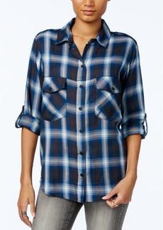 Sanctuary Plaid Boyfriend Shirt, A Macy's Exclusive