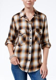 Sanctuary Plaid Boyfriend Shirt, A Macy's Exclusive Style