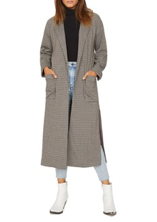 Sanctuary Plaid Duster Jacket