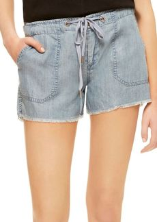 Sanctuary Playa Frayed Track Shorts