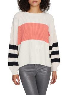 Sanctuary Playful Stripe Shaker Stitch Sweater (Regular & Petite)