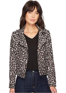 Poison & Leopard Moto Jacket