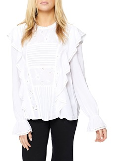Sanctuary Poppy Ruffle Blouse
