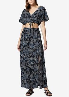 Sanctuary Printed Crop Top & Maxi Skirt Set