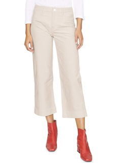 Sanctuary Quinn Stretch Cotton Crop Trousers