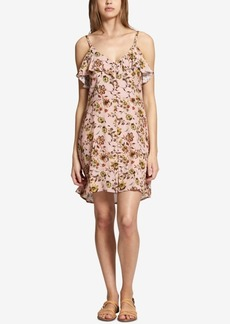 Sanctuary Rafaella Floral-Print Ruffled Dress
