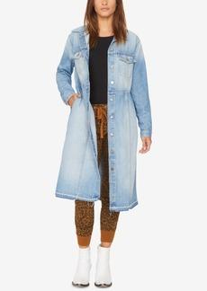 Sanctuary Ramsey Long Cotton Denim Jacket