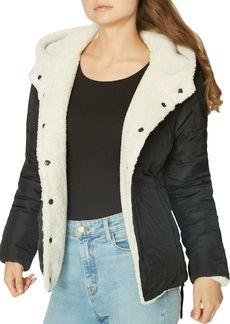 Sanctuary Reversible Faux-Fur & Quilted Coat - 100% Exclusive