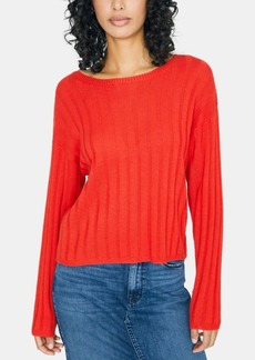 Sanctuary Ribbed Boat Neck Sweater