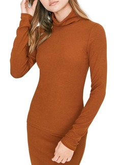 Sanctuary Ribbed Turtleneck Top