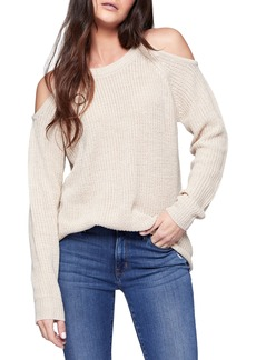Sanctuary Riley Cold Shoulder Sweater (Regular & Petite)