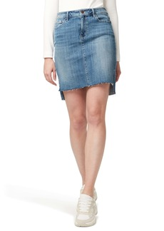 Sanctuary Rio Vista Step Hem Denim Miniskirt