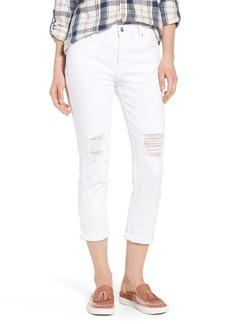 Sanctuary Ripped Slim Boyfriend Jeans (Blanca)