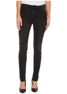 Sanctuary Robbie Velvet Touch Rose Skinny Pants