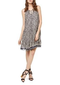 Sanctuary Romy Ruffle-Hem Floral Print Dress