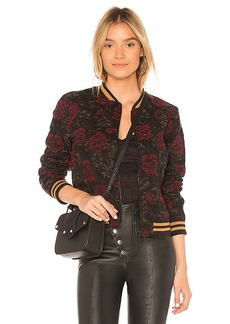 Sanctuary Rose Seduction Bomber in Black. - size XS (also in L,M,S)