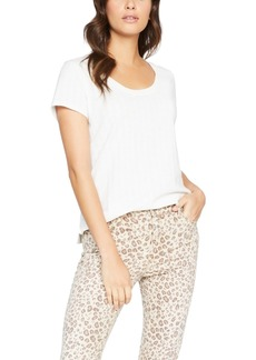 Sanctuary Ruby Scoop Textured T-Shirt
