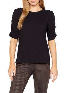 Sanctuary Ruched Sleeve Top