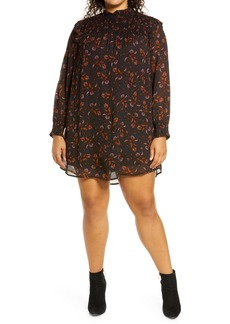 Sanctuary Run Wild Long Sleeve Dress (Plus Size)