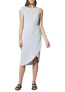 Sanctuary Salma Asymmetric Midi Dress