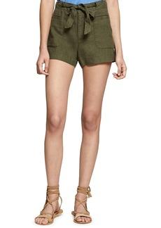 Sanctuary Sasha Linen Utility Shorts