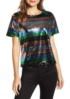 Sanctuary Saturday Night Sequin Top (Regular & Petite)