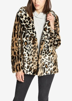 Sanctuary Seeing Spots Faux-Fur Coat