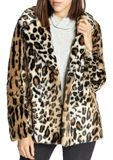 Sanctuary Seeing Spots Faux-Fur Jacket