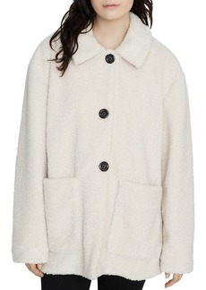 Sanctuary Sherpa Button-Front Jacket - 100% Exclusive